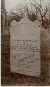 Grave of William Lewis