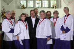 All Saints Choir with Chris De Burgh