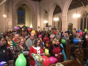 Baloon Service All Saints Church